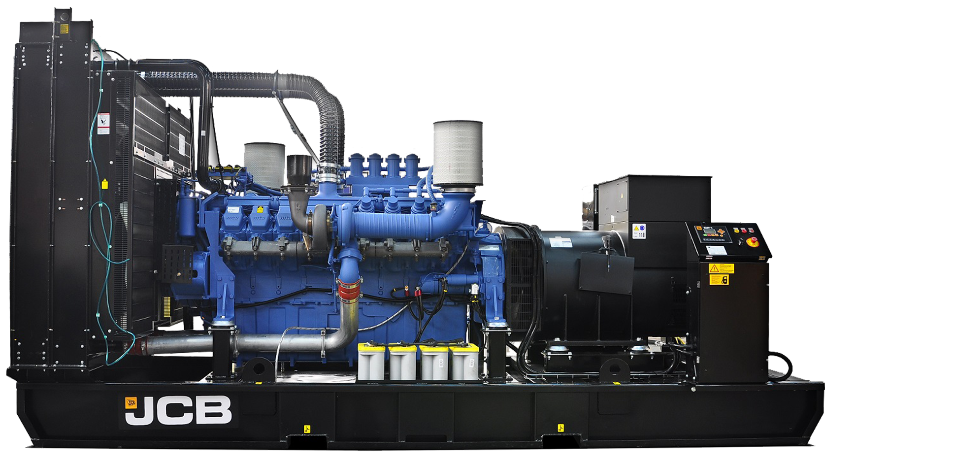 Nødstrømsanlæg hos Norwerk JCB G975X