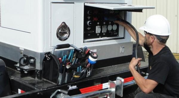 Mobile generatorer
