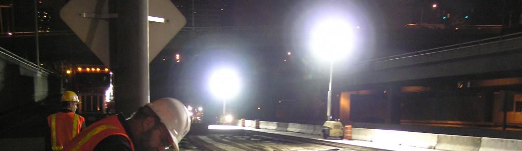 Generatorer med lysmast hos Norwerk