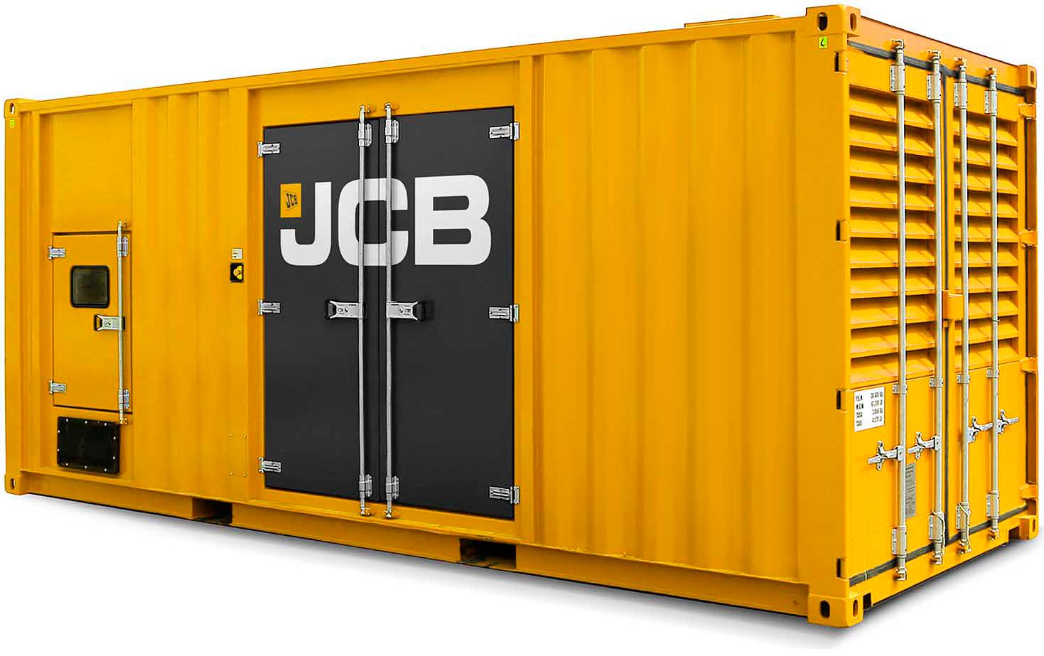 Generatoranlæg i container
