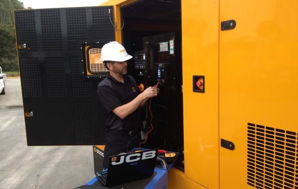 JCB Generatorservice hos Norwerk