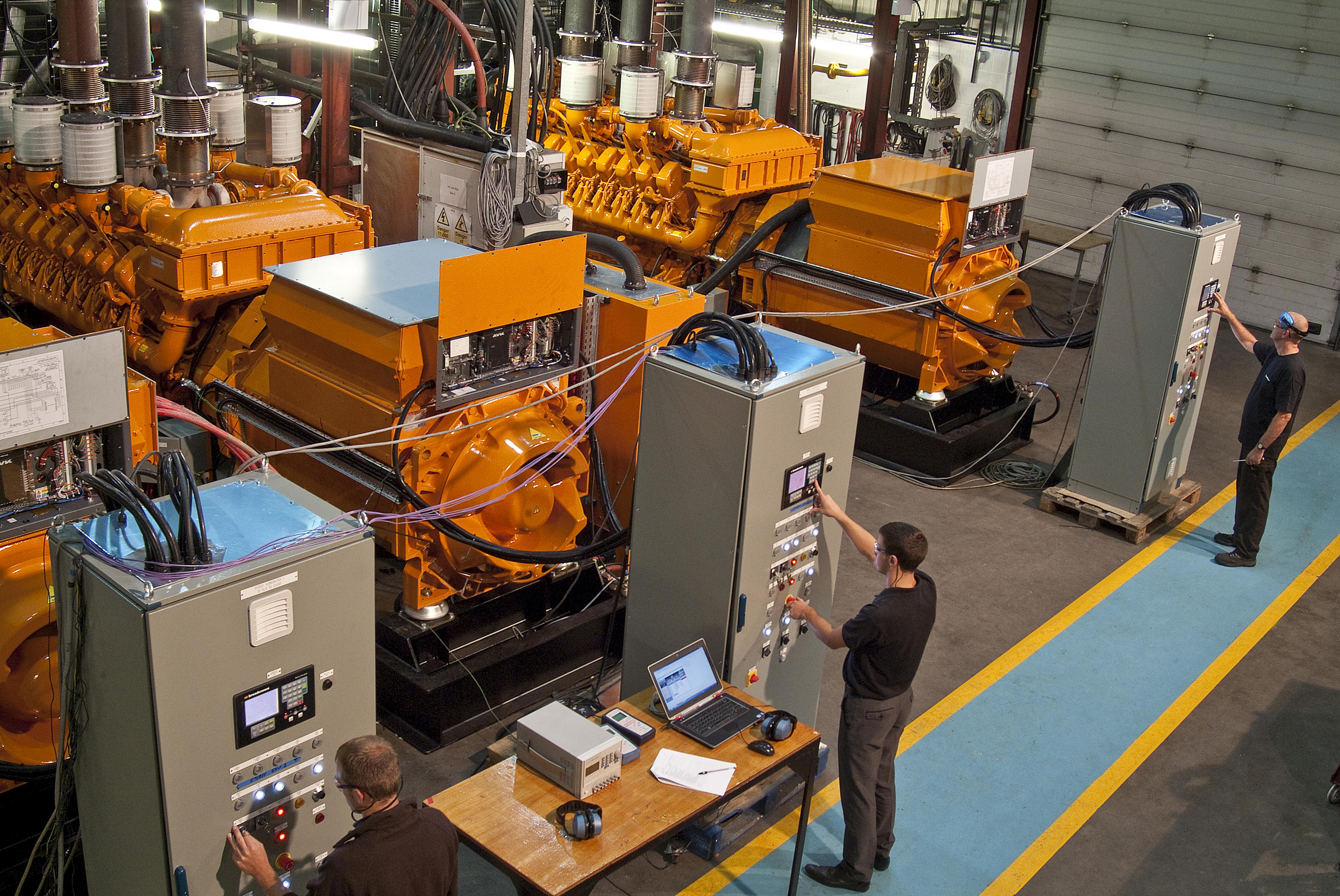 Generator-test-Broadcrown-Norwerk